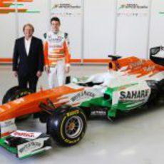 El Force India VJM06 fue presentado en Silverstone