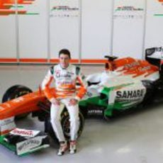 Paul di Resta y el nuevo Force India VJM06