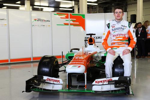 El Force India VJM06 fue presentado junto a Paul di Resta