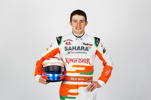 Paul di Resta, piloto de Force India para la temporada 2013