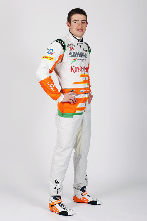Paul di Resta, piloto de Force India en la temporada 2013