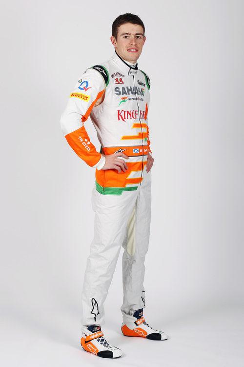 Paul di Resta, piloto de Force India en la temporada 2013