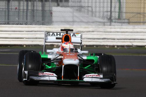 Paul di Resta estrenó el Force India VJM06 en Silverstone
