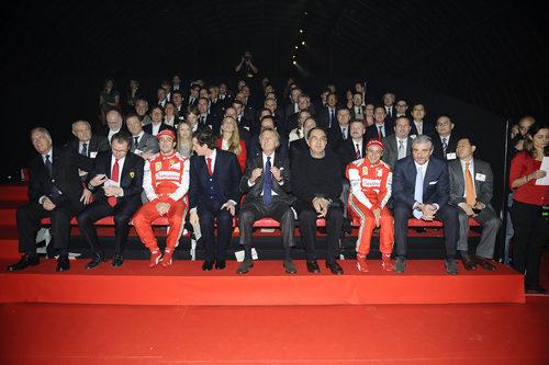 La familia Ferrari se reunió una vez más en Maranello