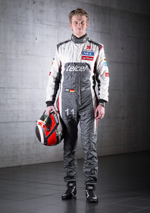 Nico Hülkenberg, piloto de Sauber para la temporada 2013