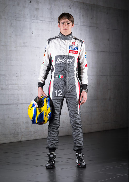 Esteban Gutiérrez, piloto de Sauber para la temporada 2013