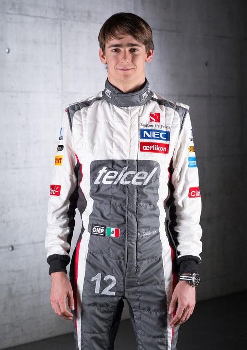 Esteban Gutiérrez, piloto titular de Sauber en 2013