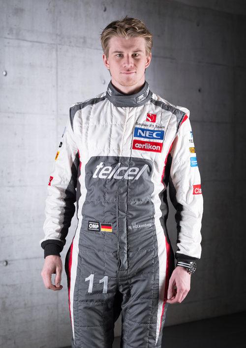 Nico Hülkenberg, piloto de Sauber para 2013