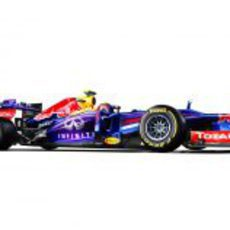 Red Bull RB9 de Mark Webber para la temporada 2013