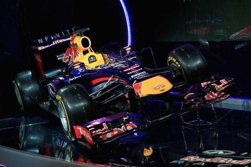 El morado gana peso en el Red Bull de 2013