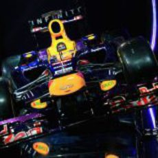 Morro escalonado para el nuevo Red Bull RB9