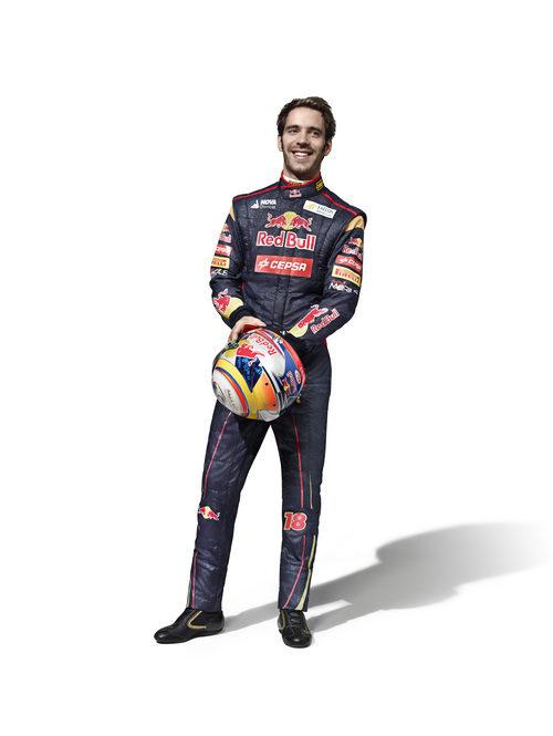 Jean-Éric Vergne, piloto de Toro Rosso en la temporada 2013