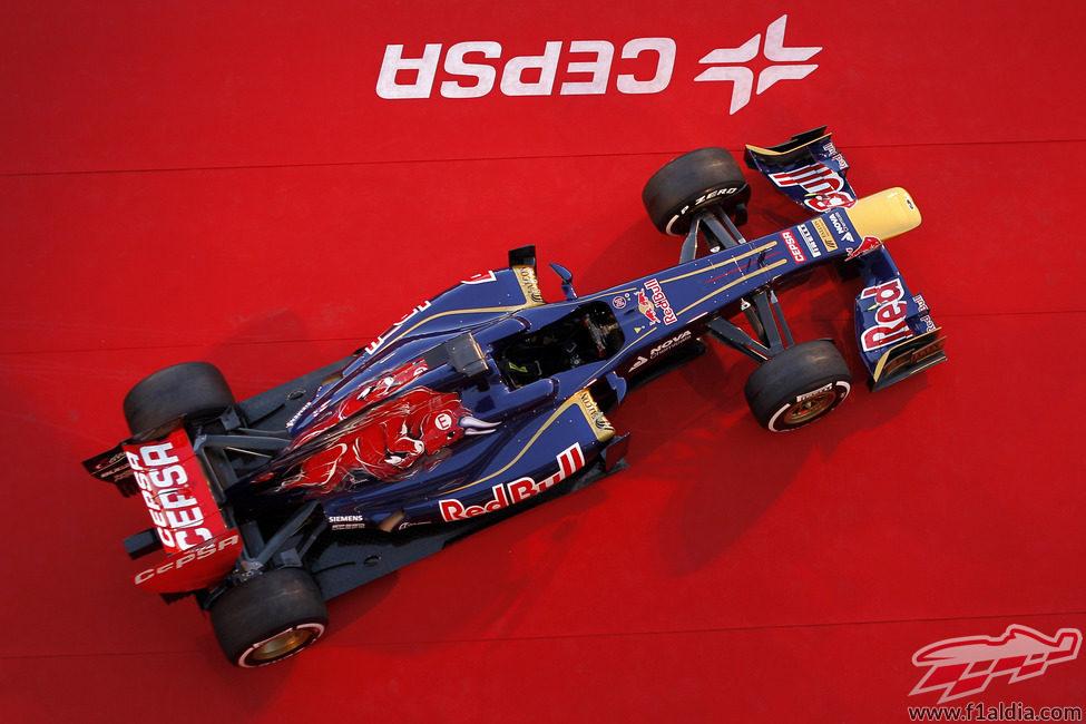 Toro Rosso STR8, el monoplaza de Faenza para la temporada 2013