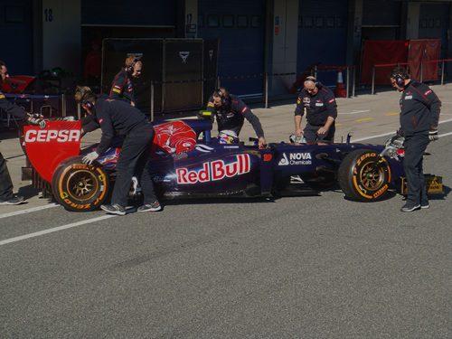 Daniel Ricciardo termina su primera tanda en el circuito