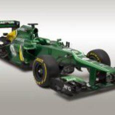 Caterham CT03, el monoplaza de Pic y Van der Garde para 2013
