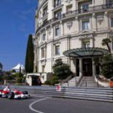 Jarno Trulli en Monte-Carlo