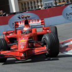 Kimi Raikkonen en Mónaco