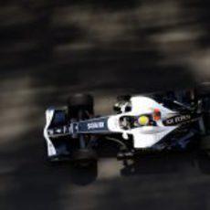 Rosberg en acción