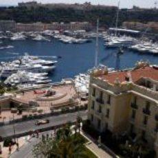 Alonso en Mónaco
