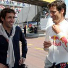 Raul González y Mark Webber