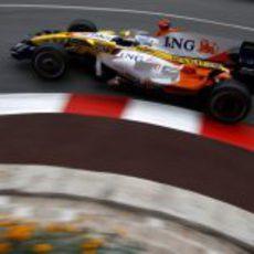 Fernando Alonso clasifica