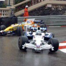 Heidfeld y Alonso