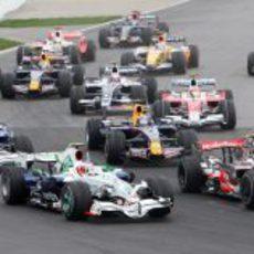 Salida Gran Premio de Canadá