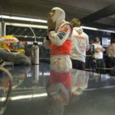 Lewis Hamilton en Canadá