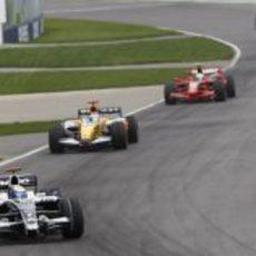 Nico Rosberg en la carrera de Montreal