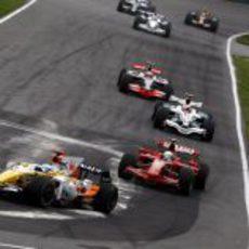 Fernando Alonso en Canadá