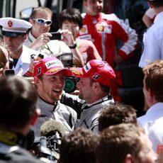 Los dos pilotos de Brawn GP