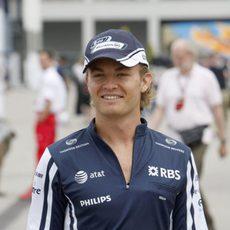 Rosberg llega a Turquía