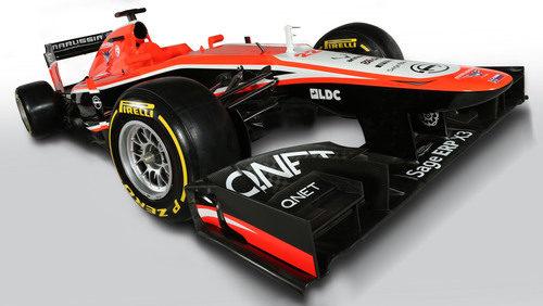 MR02, el nuevo Marussia de 2013