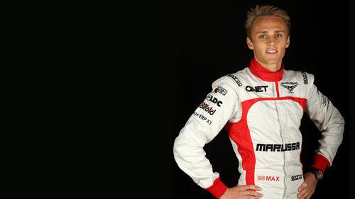 Max Chilton, piloto titular de Marussia para la temporada 2013