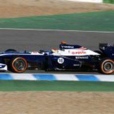 Pastor Maldonado se estrena en Jerez