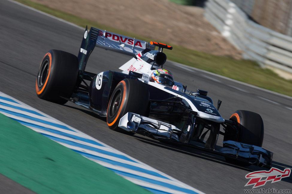 La nueva decoración de Williams en el viejo FW34