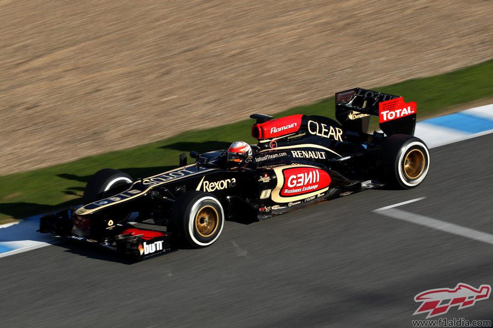 Primeros kilómetros oficiales del Lotus E21