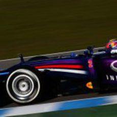 Primeros kilómetros de pretemporada del Red Bull RB9
