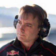 James Key se estrena en Toro Rosso