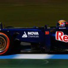 Jean-Eric Vergne rueda en Circuito de Jerez