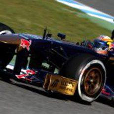 Jerez recibe a Jean-Eric Vergne y Toro Rosso