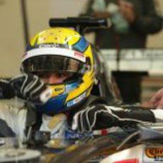 Esteban Gutiérrez se sube al Sauber C32