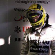 Nico Rosberg, otro año más en Mercedes