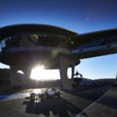 Tercer día de entrenamientos en el circuito de Jerez