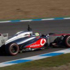 La trasera del McLaren MP4-28