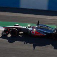 Entrenamientos para McLaren