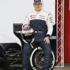 Valtteri Bottas, piloto de Williams para 2013