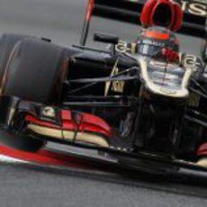 Kimi Räikkönen en la primera jornada de pruebas