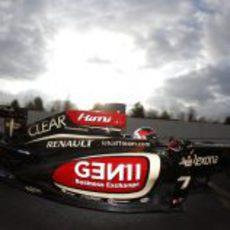 Kimi Räikkönen en Montmeló