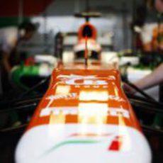 Morro del Force India VJM06